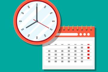 Hora e calendario