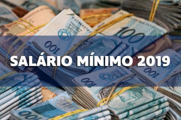 Salário Mínimo da Empregada Doméstica 2019