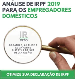 Análise da declaração de IRPF 2019