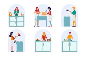 cozinheira domestica