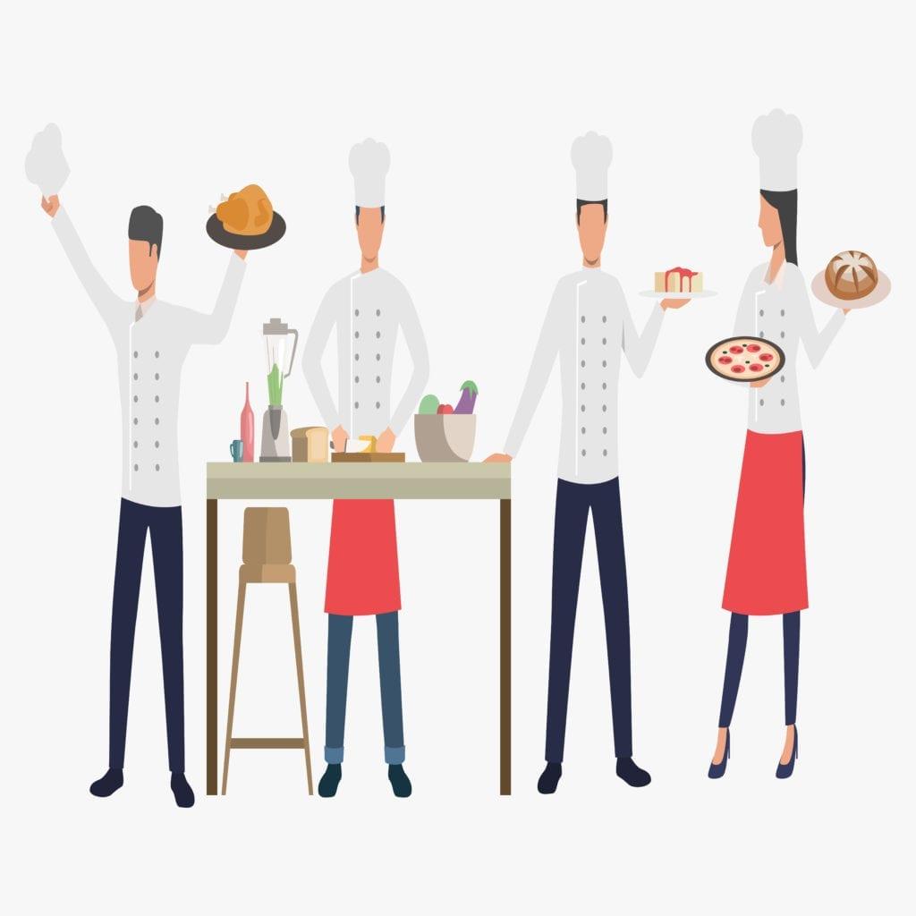 gerenciamento cozinheira