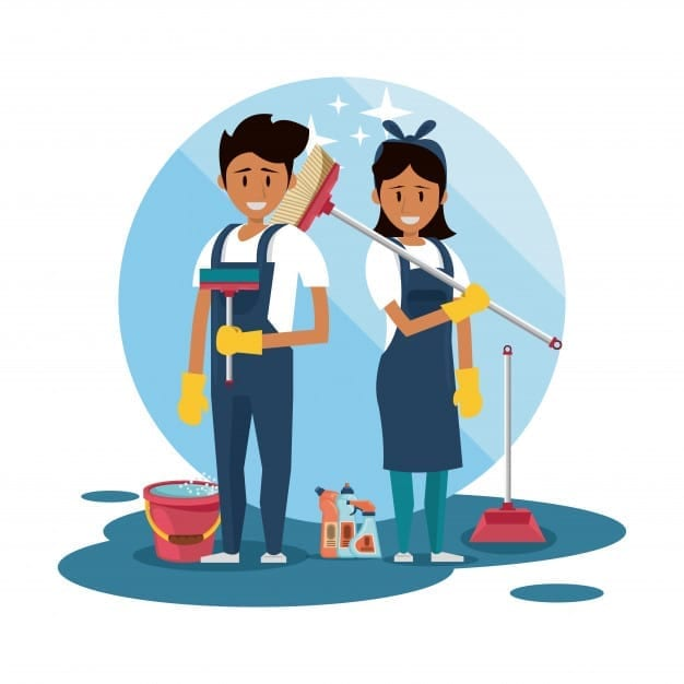 Horário de almoço da empregada doméstica